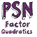 PSN Factor Quadratics