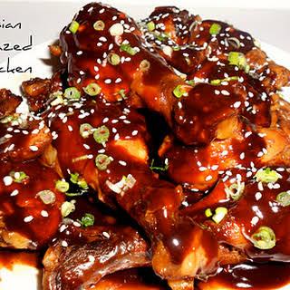 Asian Glazed Chicken Drumsticks.
