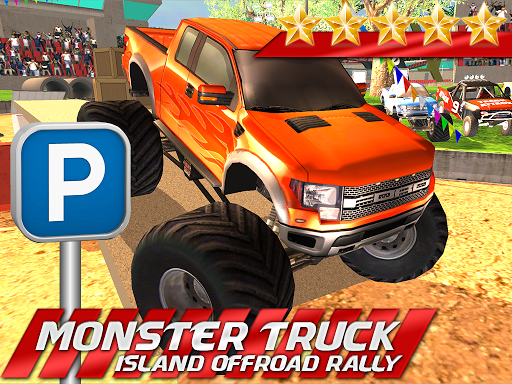 MONSTER TRUCK BEACH OFFROAD