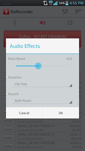 高品质录音笔 DaRecorder MP3 錄音 秘密录音机|玩音樂App免費|玩APPs