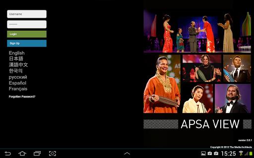 APSA View
