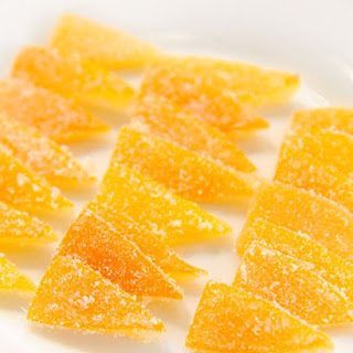 Candied Meyer Lemon Peel.