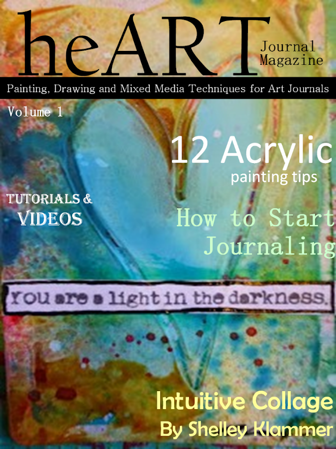 heART Journal Magazine- screenshot