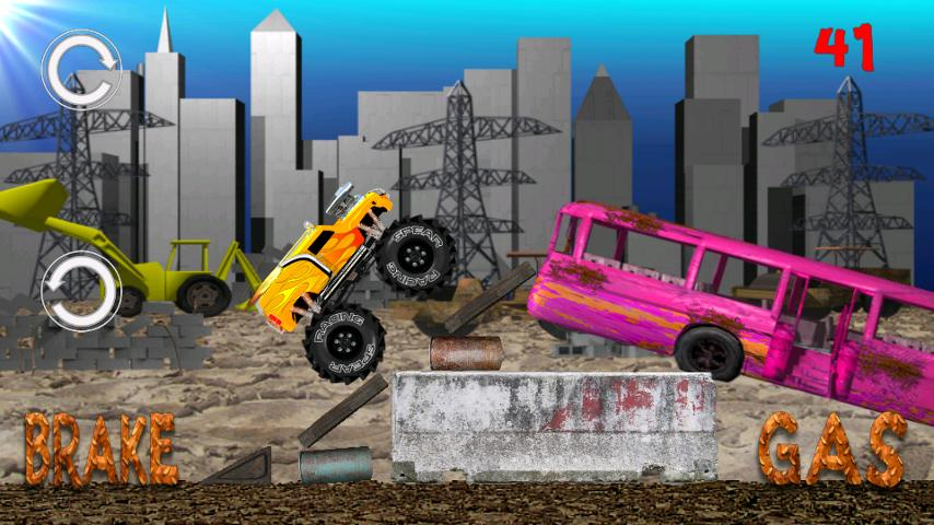 Monster Truck Junkyard- screenshot