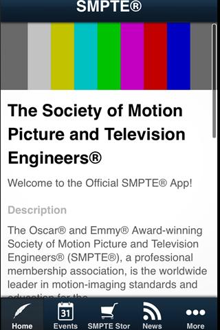SMPTE® - screenshot