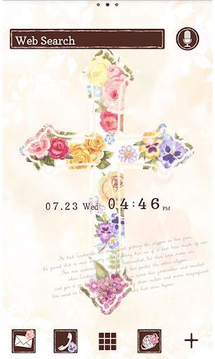 鮮花 十字架 for[+]HOME