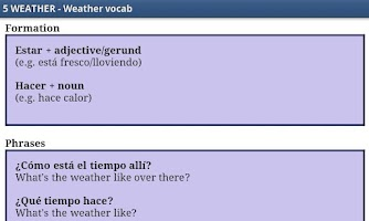 Screenshot of Learn Spanish by Video