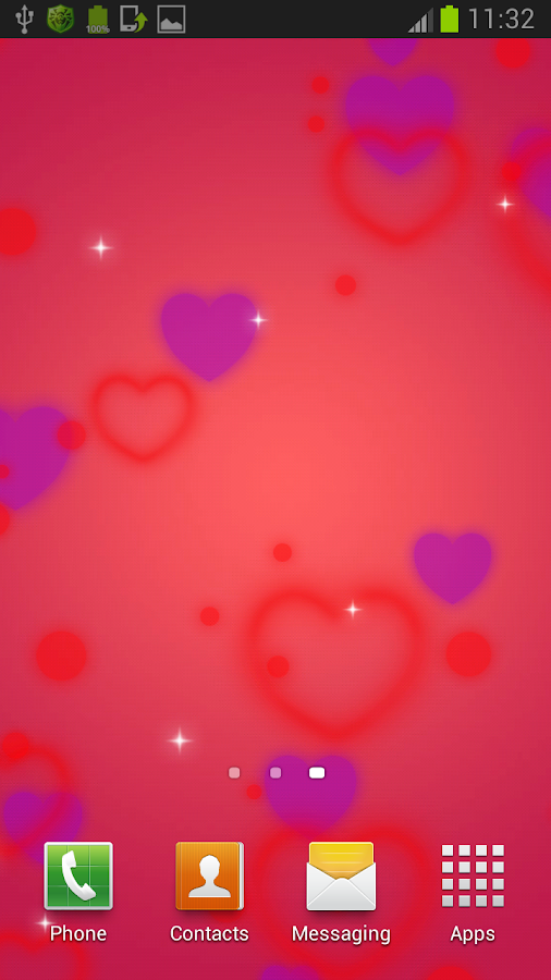 Valentine's Day Live Wallpaper - screenshot