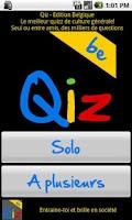 Screenshot of Qiz Belgique