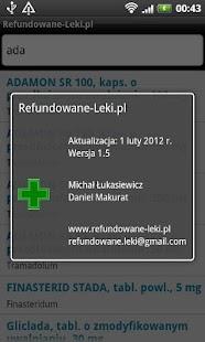 Refundowane Leki - screenshot thumbnail