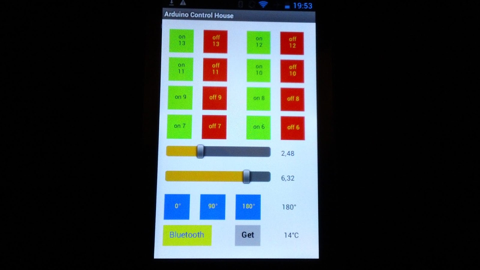 House App arduino control house - android apps on google play