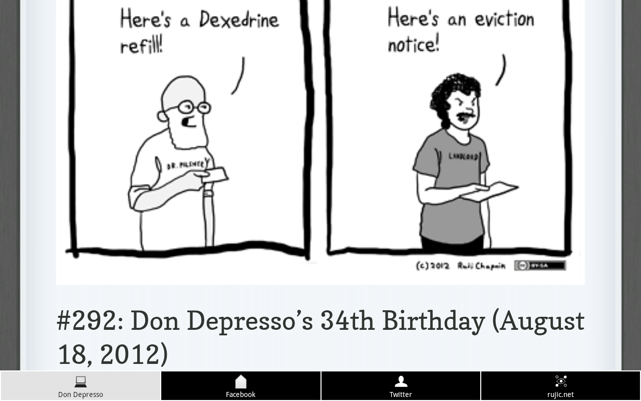 Don Depresso Comics - screenshot