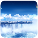 Water Fall Live Wallpaper HD icon