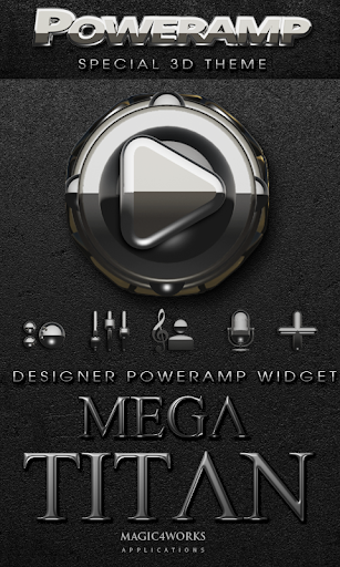 Poweramp Widget Mega Titan