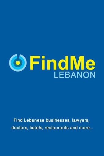 Find Me Lebanon