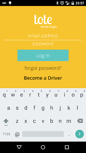Tote - Driver Application