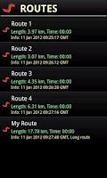 Screenshot of GPS venture
