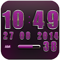 Clock Widget Pink Elephant icon