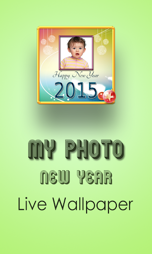 New Year Photo Live Wallpaper