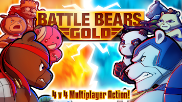 Screenshot of Battle Bears Gold Multiplayer