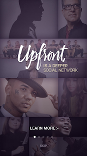Upfront - screenshot thumbnail
