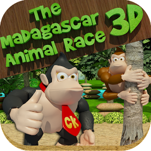 The Madagascar Animal Race 3D for PC and MAC