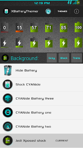 XPOSED Battery - Jedi Stock
