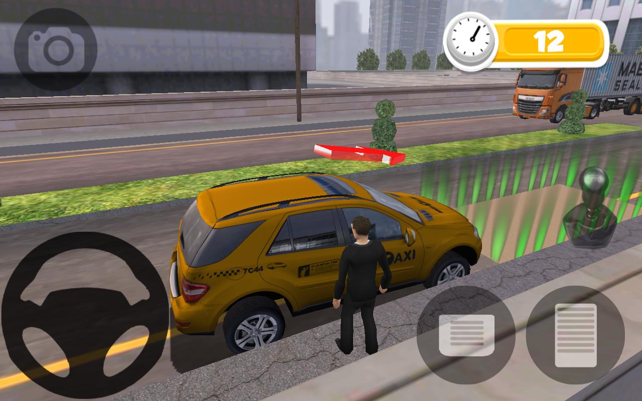 TAXI PARKING HD - screenshot