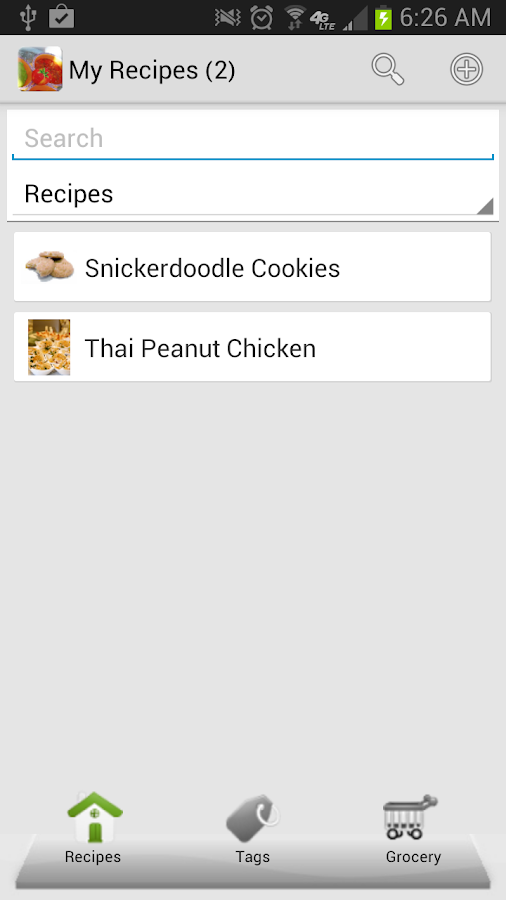 My Recipes Lite+- screenshot