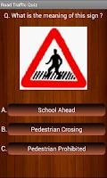 Screenshot of Driving Test