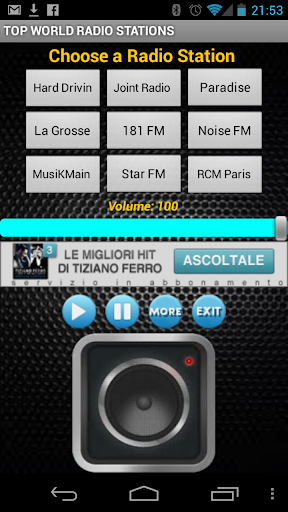 TOP WORLD RADIO STATIONS