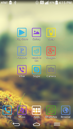 ColorBox theme for LGHome v1 0 011 (Android) - Descargar APK