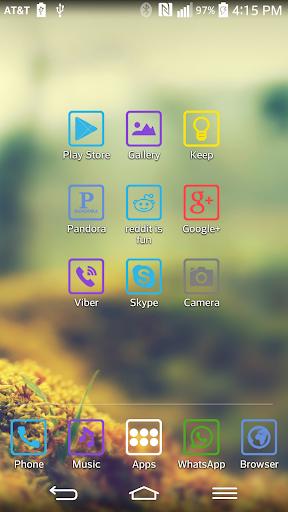ColorBox theme for LGHome v1 0 011 (Android) - Descargar APK