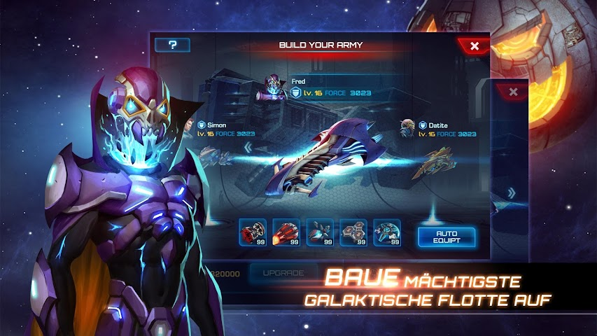 android Galaxy Legend Screenshot 11