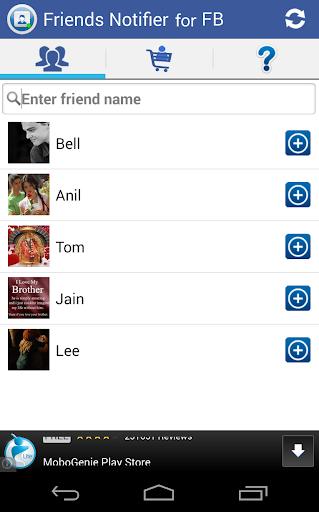 Friends Notifier for Facebook