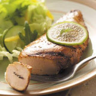 Garlic-Lime Chicken.