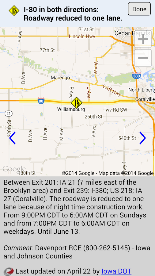 Iowa 511 Apk By Iowa Department Of Transportation Details