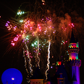 Disneyland Fireworks Wallpaper