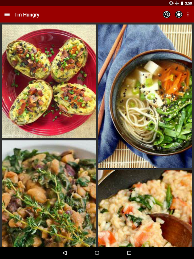 I'm Hungry: Vegetarian Recipes - screenshot
