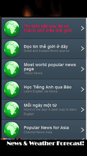 Du Bao Thoi Tiet Weather News! - screenshot thumbnail