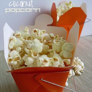Parmesan Coconut Popcorn