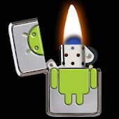 Android Lighter Fire Wallpaper