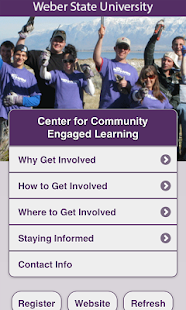 Weber State CCEL - screenshot thumbnail