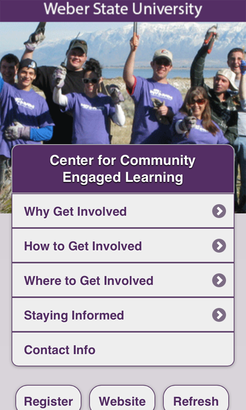 Weber State CCEL - screenshot