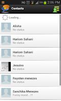Screenshot of Clear Chats Messenger