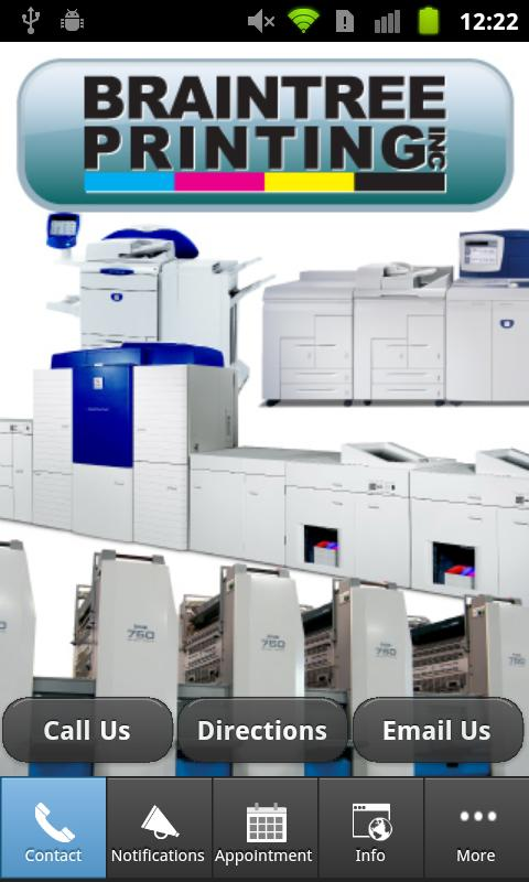 Braintree Printing - screenshot