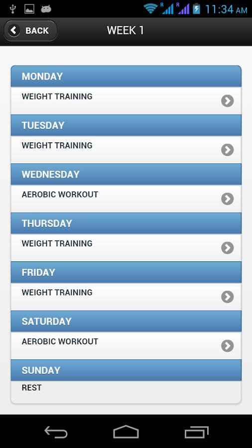 Arnold's Workout - screenshot
