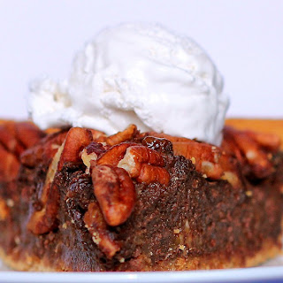 Chocolate-Pecan Pie.