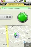 Screenshot of AAA TAXI - order taxi