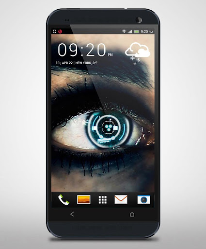 Cyber Eye Live Wallpaper